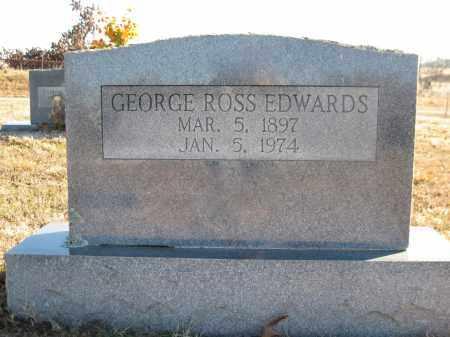 EDWARDS, GEORGE ROSS - Logan County, Arkansas | GEORGE ROSS EDWARDS - Arkansas Gravestone Photos