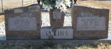 ELKINS, ROBERT R, REV - Logan County, Arkansas | ROBERT R, REV ELKINS - Arkansas Gravestone Photos