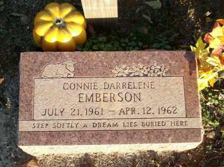 EMBERSON, CONNIE DARRELENE - Logan County, Arkansas   CONNIE DARRELENE EMBERSON - Arkansas Gravestone Photos