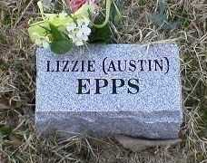 EPPS, LIZZIE - Logan County, Arkansas | LIZZIE EPPS - Arkansas Gravestone Photos