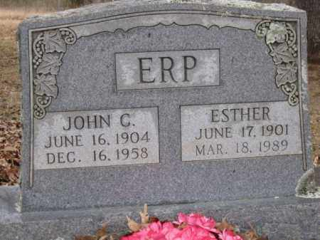 ERP, JOHN C - Logan County, Arkansas | JOHN C ERP - Arkansas Gravestone Photos