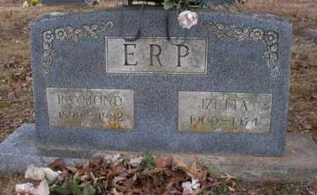 ERP, IZETTA - Logan County, Arkansas | IZETTA ERP - Arkansas Gravestone Photos