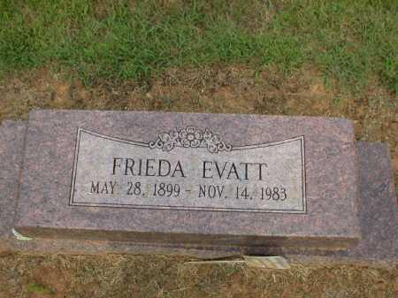 EVATT, FRIEDA - Logan County, Arkansas | FRIEDA EVATT - Arkansas Gravestone Photos