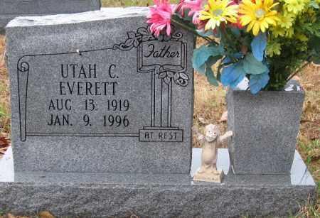 EVERETT, UTAH C. - Logan County, Arkansas | UTAH C. EVERETT - Arkansas Gravestone Photos