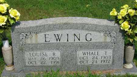 EWING, LOUISE R - Logan County, Arkansas | LOUISE R EWING - Arkansas Gravestone Photos