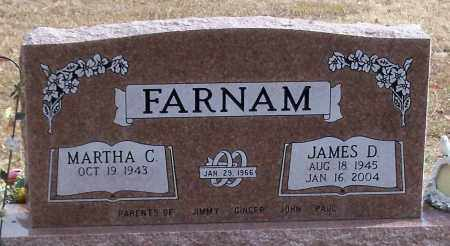 FARNAM, JAMES D - Logan County, Arkansas | JAMES D FARNAM - Arkansas Gravestone Photos