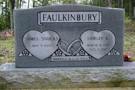 FAULKINBURY, SHIRLEY  E - Logan County, Arkansas   SHIRLEY  E FAULKINBURY - Arkansas Gravestone Photos