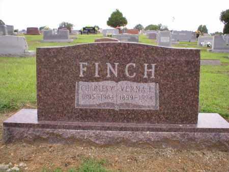 FINCH, CHARLES W. - Logan County, Arkansas   CHARLES W. FINCH - Arkansas Gravestone Photos