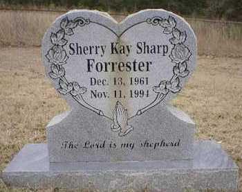 SHARP FORRESTER, SHERRY KAY - Logan County, Arkansas | SHERRY KAY SHARP FORRESTER - Arkansas Gravestone Photos
