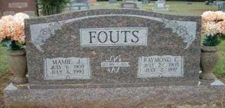 FOUTS, MAMIE J. - Logan County, Arkansas | MAMIE J. FOUTS - Arkansas Gravestone Photos