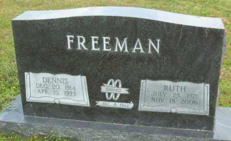 FREEMAN, DENNIS - Logan County, Arkansas | DENNIS FREEMAN - Arkansas Gravestone Photos