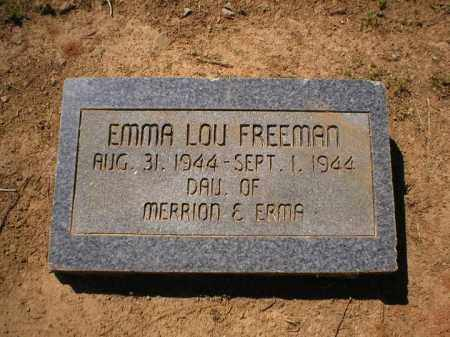 FREEMAN, EMMA LOU - Logan County, Arkansas   EMMA LOU FREEMAN - Arkansas Gravestone Photos