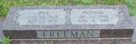 FREEMAN, HARMON - Logan County, Arkansas | HARMON FREEMAN - Arkansas Gravestone Photos