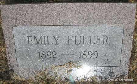 FULLER, EMILY - Logan County, Arkansas   EMILY FULLER - Arkansas Gravestone Photos