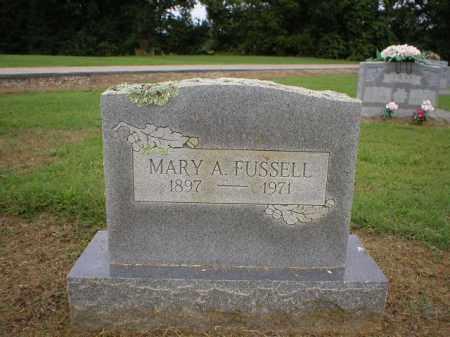 FUSSELL, MARY - Logan County, Arkansas | MARY FUSSELL - Arkansas Gravestone Photos