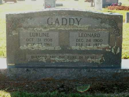 GADDY, LEONARD - Logan County, Arkansas | LEONARD GADDY - Arkansas Gravestone Photos