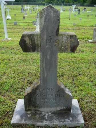 GAISBAUER, FRANK - Logan County, Arkansas | FRANK GAISBAUER - Arkansas Gravestone Photos