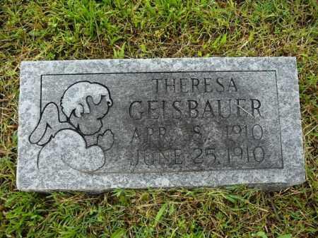 GAISBAUER, THERESA - Logan County, Arkansas | THERESA GAISBAUER - Arkansas Gravestone Photos