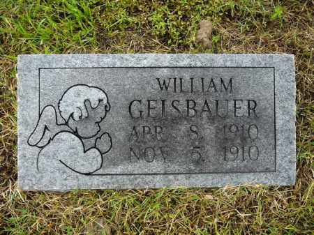 GAISBAUER, WILLIAM - Logan County, Arkansas | WILLIAM GAISBAUER - Arkansas Gravestone Photos