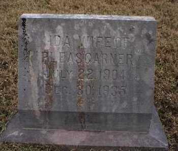 GARNER, IDA - Logan County, Arkansas | IDA GARNER - Arkansas Gravestone Photos