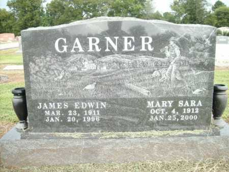 GARNER, JAMES EDWIN - Logan County, Arkansas | JAMES EDWIN GARNER - Arkansas Gravestone Photos