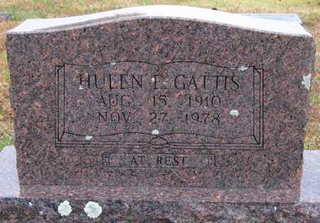 GATTIS, HULEN - Logan County, Arkansas | HULEN GATTIS - Arkansas Gravestone Photos