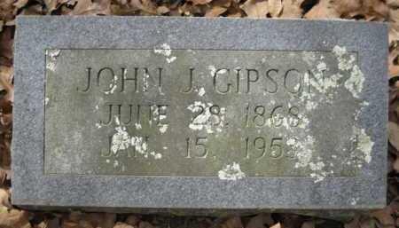 GIPSON, JOHN J - Logan County, Arkansas | JOHN J GIPSON - Arkansas Gravestone Photos