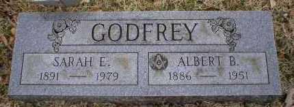 GODFREY, SARAH E - Logan County, Arkansas   SARAH E GODFREY - Arkansas Gravestone Photos