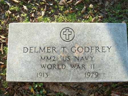 GODFREY (VETERAN WWII), DELMER T - Logan County, Arkansas | DELMER T GODFREY (VETERAN WWII) - Arkansas Gravestone Photos