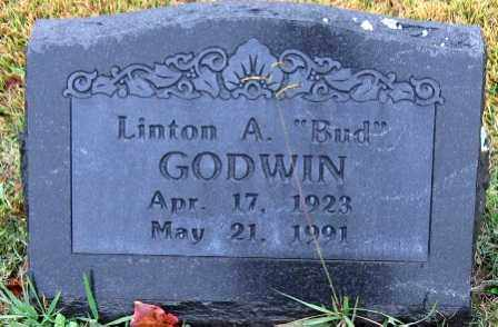 "GODWIN, LINTON A. ""BUD"" - Logan County, Arkansas | LINTON A. ""BUD"" GODWIN - Arkansas Gravestone Photos"