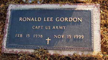 GORDON  (VETERAN), RONALD LEE - Logan County, Arkansas | RONALD LEE GORDON  (VETERAN) - Arkansas Gravestone Photos