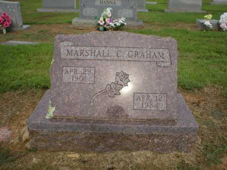 GRAHAM, MARSHALL C. - Logan County, Arkansas   MARSHALL C. GRAHAM - Arkansas Gravestone Photos