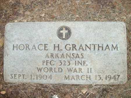 GRANTHAM (VETERAN WWII), HORACE H. - Logan County, Arkansas   HORACE H. GRANTHAM (VETERAN WWII) - Arkansas Gravestone Photos