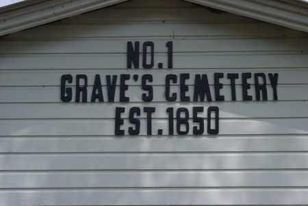 *GRAVES CEMETERY SIGN,  - Logan County, Arkansas |  *GRAVES CEMETERY SIGN - Arkansas Gravestone Photos