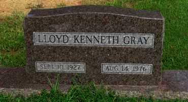 GRAY, LLOYD KENNETH - Logan County, Arkansas | LLOYD KENNETH GRAY - Arkansas Gravestone Photos
