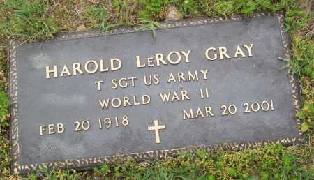 GRAY (VETERAN WWII), HAROLD LEROY - Logan County, Arkansas | HAROLD LEROY GRAY (VETERAN WWII) - Arkansas Gravestone Photos