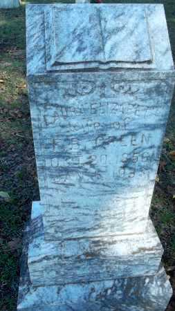 GREEN, LAURA ELIZABETH - Logan County, Arkansas | LAURA ELIZABETH GREEN - Arkansas Gravestone Photos