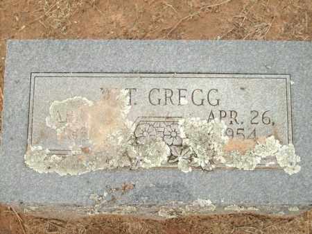 GREGG, W.T. - Logan County, Arkansas   W.T. GREGG - Arkansas Gravestone Photos