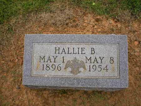 GRIFFEY, HALLIE B. - Logan County, Arkansas | HALLIE B. GRIFFEY - Arkansas Gravestone Photos