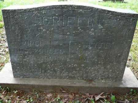 GRIFFIN, NETTIE - Logan County, Arkansas | NETTIE GRIFFIN - Arkansas Gravestone Photos