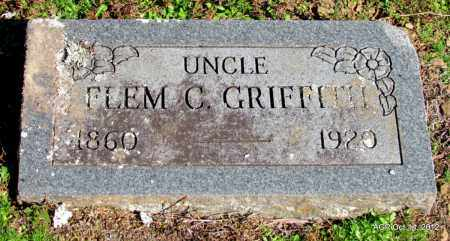 GRIFFITH, FLEM C - Logan County, Arkansas | FLEM C GRIFFITH - Arkansas Gravestone Photos