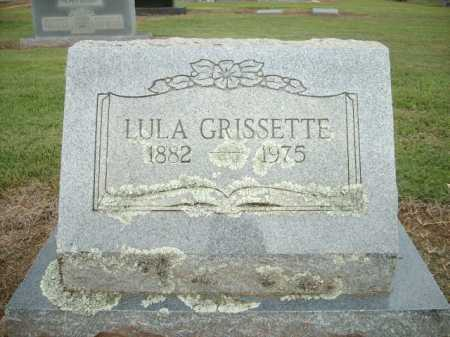 GRISSETTE, LULA - Logan County, Arkansas | LULA GRISSETTE - Arkansas Gravestone Photos