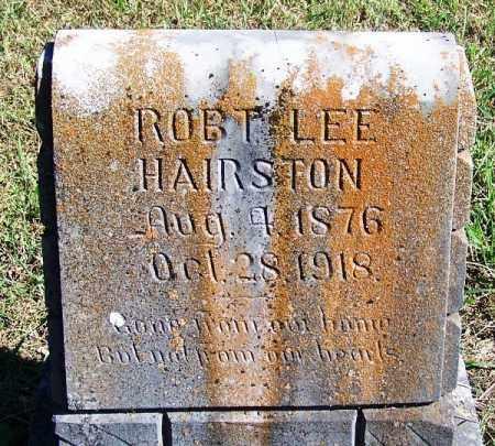 HAIRSTON, ROBERT LEE - Logan County, Arkansas   ROBERT LEE HAIRSTON - Arkansas Gravestone Photos