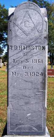 HAIRSTON, T B - Logan County, Arkansas | T B HAIRSTON - Arkansas Gravestone Photos