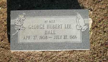 HALL, GEORGE HUBERT LEE - Logan County, Arkansas | GEORGE HUBERT LEE HALL - Arkansas Gravestone Photos