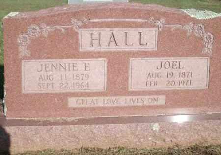 HALL, JENNIE E. - Logan County, Arkansas | JENNIE E. HALL - Arkansas Gravestone Photos