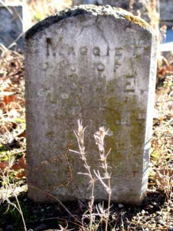HALL, MAGGIE - Logan County, Arkansas | MAGGIE HALL - Arkansas Gravestone Photos
