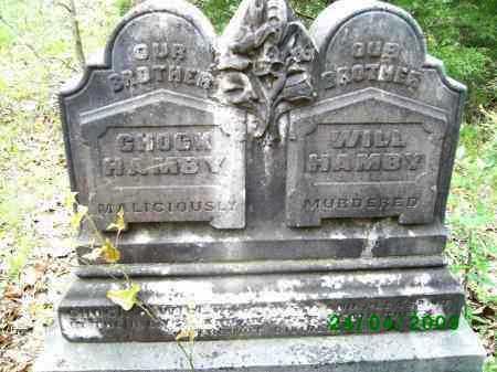 "HAMBY, ROBERT Y. ""CHOCK"" - Logan County, Arkansas | ROBERT Y. ""CHOCK"" HAMBY - Arkansas Gravestone Photos"