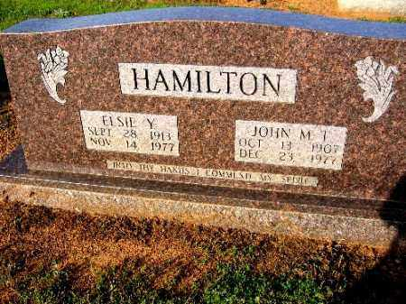 HAMILTON, JOHN M. T. - Logan County, Arkansas   JOHN M. T. HAMILTON - Arkansas Gravestone Photos