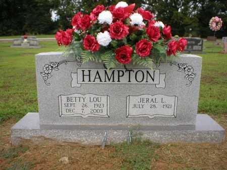 HAMPTON, BETTY LOU - Logan County, Arkansas | BETTY LOU HAMPTON - Arkansas Gravestone Photos